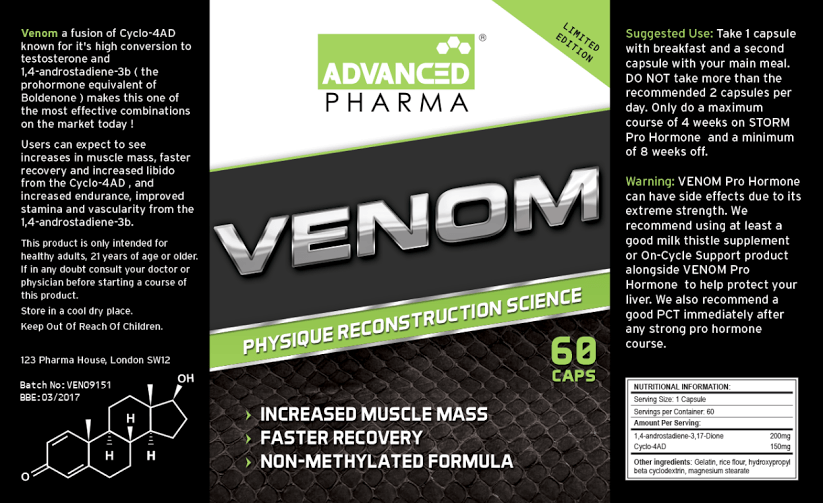 advanced pharma venom